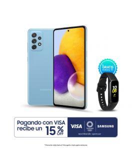 Galaxy A72 - 6GB_128GB - Azul + Banda Fit
