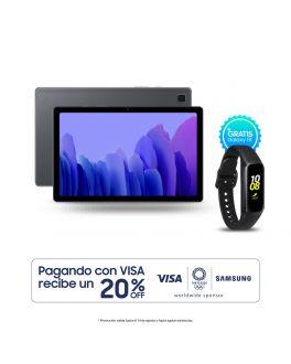 Galaxy Tab A7 LTE - 32 GB Plateado + Banda Fit