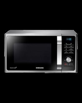 Microwave Oven Grill con interior de Cerámica 28 Lt Plateado