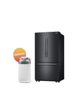 Samsung Refrigerador French Door 27ft Negro + Purificador Gratis