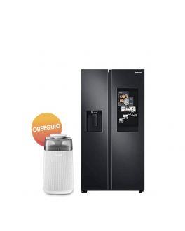 Refrigeradora Side By Side con Tecnología Digital Inverter +  Purificador Gratis