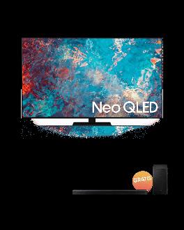 """Neo QLED 55"""" TV UHD Smart TV + Soundbar 5.1ch Acoustic Beam"""