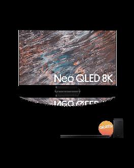"""Neo QLED 65"""" 8K TV UHD Smart TV + Soundbar 3.1 Q-Symphony"""