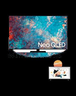 "Neo QLED 65"" TV UHD Smart TV + The frame Smart TV 32"""