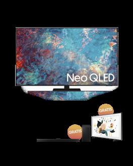 "Neo QLED 8K 75"" Flat Display Full HD Smart TV + The frame Smart TV 32"" + Soundbar 5.1ch Acoustic Beam"