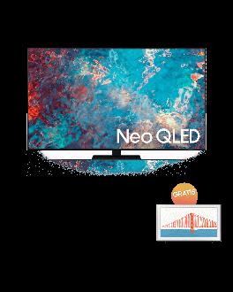 "Neo QLED 75"" Flat Panel Display Full HD Smart TV + The frame Smart TV 32"""