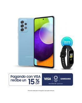 Galaxy A52 - 6GB_128GB - Azul + Banda Fit