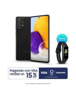 Galaxy A72 - 6GB_128GB - Negro + Banda Fit