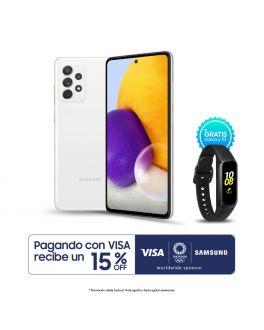 Galaxy A72 - 6GB_128GB - Blanco + Banda Fit