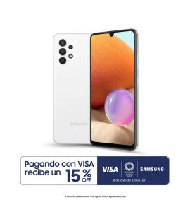 Galaxy A32 - 4GB_128GB - Blanco