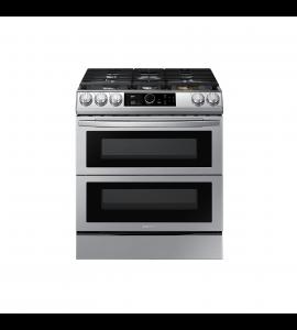 Cocina a Gas Slide In Double Oven Freidora de Aire Wifi True convection 6.0